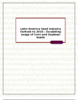 Latin America Seed Industry Outlook to 2016 - Escalating usage of Corn and Soybean Seeds