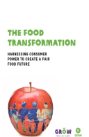 The Food Transformation: Harnessing consumer power to create a fair food future