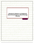 Research Report on Regional Benchmarking for Wind Energy Market