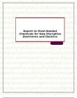 Report on Most-Needed Chemicals for New Disruptive Electronics and Electrics