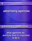 Ad agency structure & function