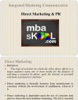 Direct Marketing & PR