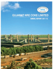 Gujarat NRE Coke Annual Report 2011-12
