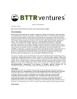 Job Description (Sales) - BTTR Ventures