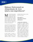 Artigos - Balanço Nutricional
