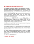 Project Reports on Marketing Mix - ICICI Prudential Life Insurance 7P's