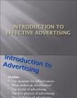 Presentation on Effectiveness of Advertising