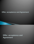 Introduction to Acceptance and Agreement