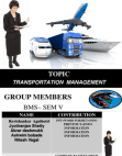 presentation on transportation management