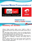 project on imc of airtel