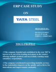 project on tata steel