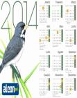 Calendário 2014 Coleiro