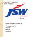 PRESENTATION ON JSW WORKS