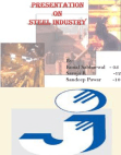 PRESENTATION ON STEEL INDUSTRY