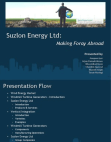 PRESENTATION ON SUZLON ENERGY
