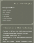 PRESENTATION ON HCL TECHNOLOGY