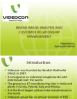 BRAND IMAGE ANALYSIS OF VIDEOCON