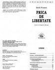 26641037 Erich Fromm Frica de Libertate