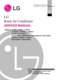 LG LC8000 8,000 BTU Slider Casement Room Air Conditioner Service Manual