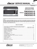 Dacor PMOR302 Microwave Oven