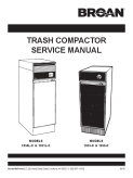 Broan Trash Compactor 1