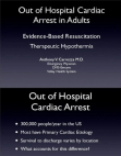 Out of Hospital Cardiac Arrest