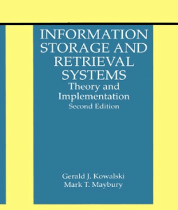 Information Storage and Retrieva Systems