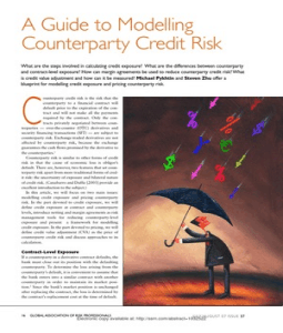 Counterparty risk forex