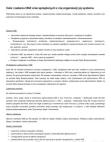 Cele i zadania ONZ oraz sprzężonych z nią organizacji jej systemu