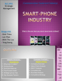 smartphone industry financial analysis