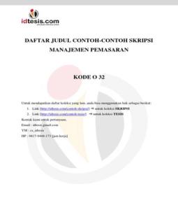 Free Pdf Download Search Results Contoh Skripsi Manajemen Sdm Pdf