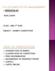 Classification of Market