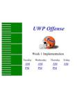 2002 UW-Platteville Spread Offense Implementation Week 1