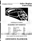 1997 Salve Regina Seahawks Wing T Offense  111 Pages