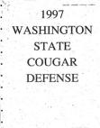 1997 Washington State 43 Defense
