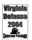 2004 University of Virginia Defensive Coverage Packages  54 Pages