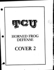 TCU Horned Frog Defense  57 Pages