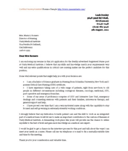 Cover Letter Examples For Certified Nursing Assistant Rpolibraryutoronto Web Fc2 Com