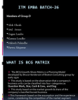 Tata Motors BCG Matrix