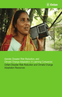 Gender, Disaster Risk Reduction, and Climate Change Adaptation: A Learning Companion