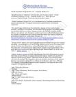 Vibash Coimbatore Surgicals Pvt. Ltd. - Company Profile 2012