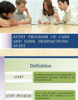 audit ppt